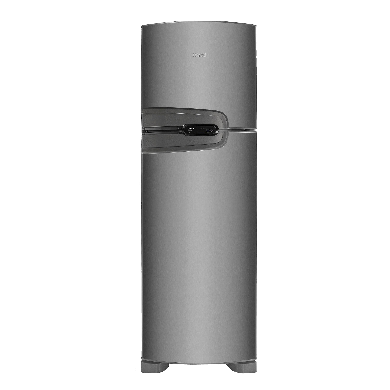 Geladeira Consul Frost Free Duplex 386 litros cor Inox com Prateleira Dobrável - Outlet - CRM43NK_OUT