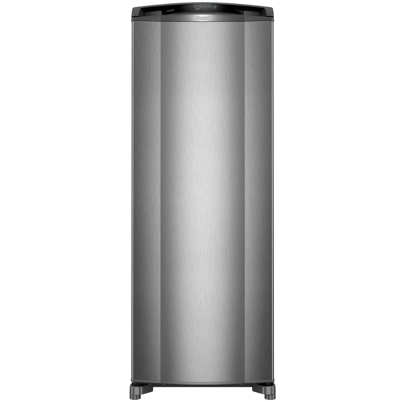 Geladeira Consul Frost Free 342 litros cor Inox com Gavetão Hortifruti - Outlet - CRB39AK_OUT