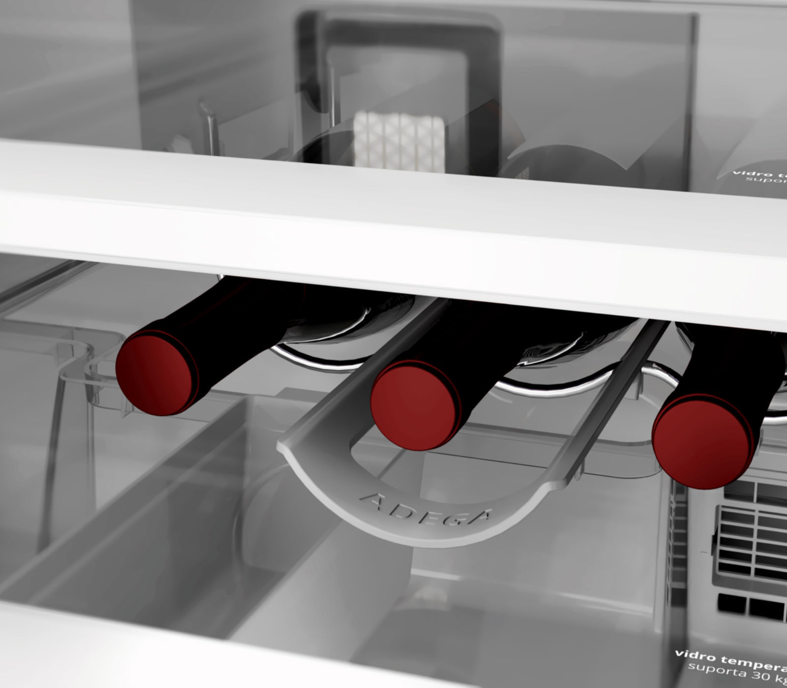 Compartimento Adega Brastemp - W11113070