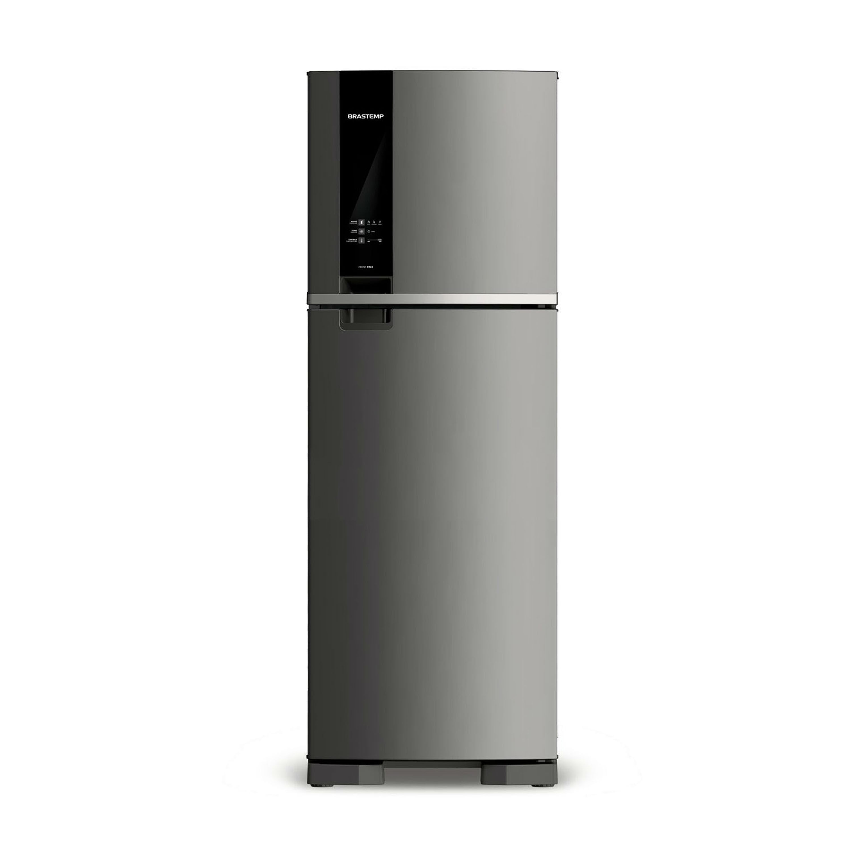 Geladeira Brastemp Frost Free Duplex 375 litros cor Inox com Espaço Adapt - Outlet - BRM45HK_OUT