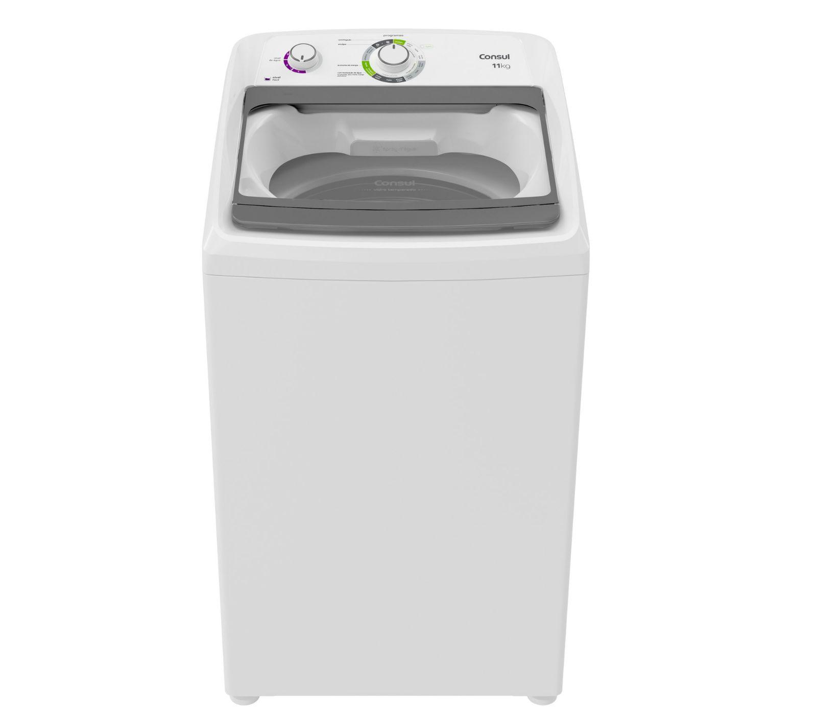 Máquina de Lavar Consul 11kg Dosagem Extra Econômica e Ciclo Edredom - CWH11AB