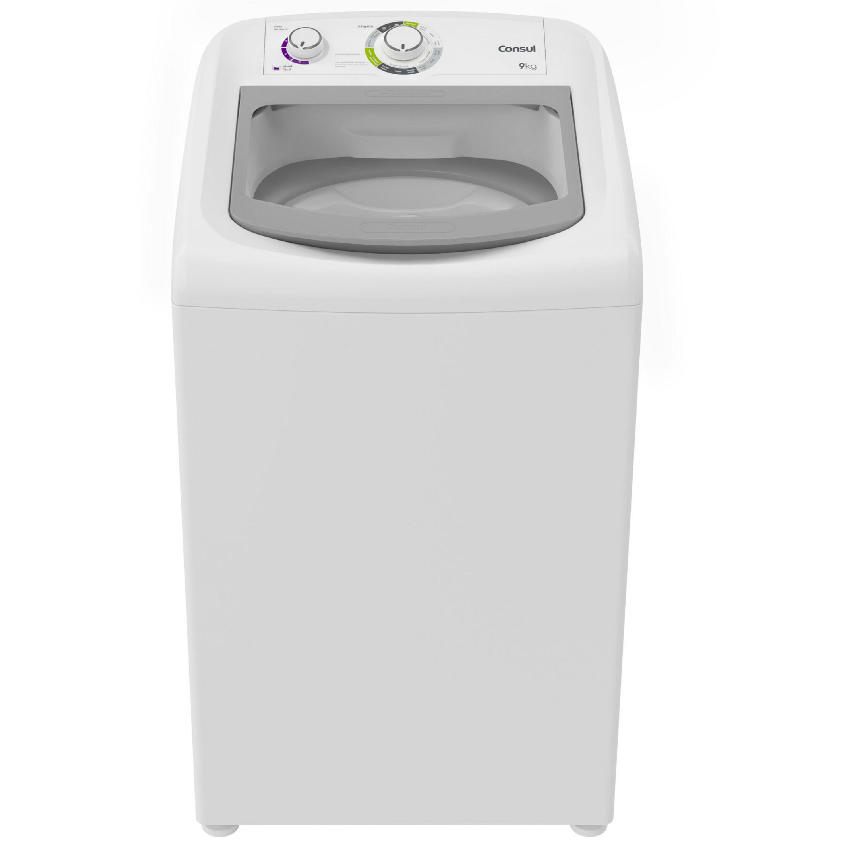 Máquina de Lavar Consul 9kg Dosagem Extra Econômica e Ciclo Edredom  - Outlet - CWB09AB_OUT