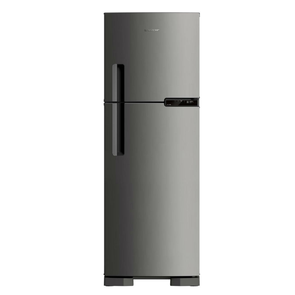 Geladeira Brastemp Frost Free Duplex 375 litros cor Inox - Outlet - BRM44HK_OUT
