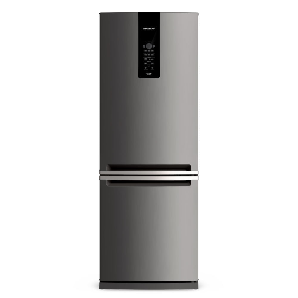 Geladeira Brastemp Frost Free Inverse 460 litros cor Inox com Freeze Control Advanced - Outlet - BRE59AK_OUT