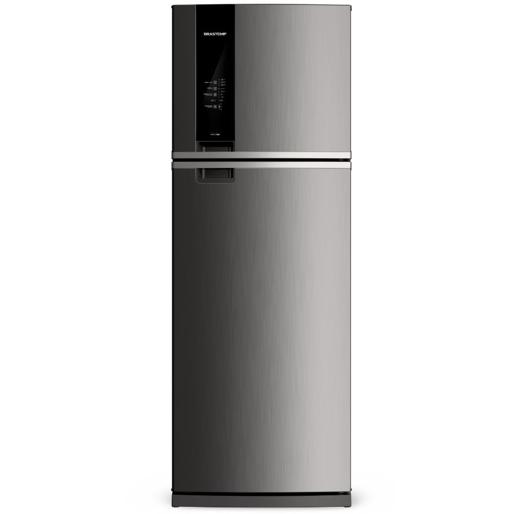 Geladeira Brastemp Frost Free Duplex 500 litros cor Inox com Turbo Control - Outlet - BRM57AK_OUT