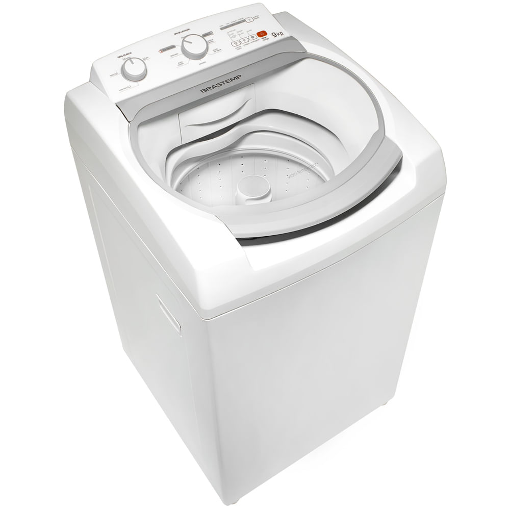 Máquina de Lavar Brastemp 9kg com Ciclo Tira Manchas e Enxágue Duplo - Outlet - BWJ09AB_OUT