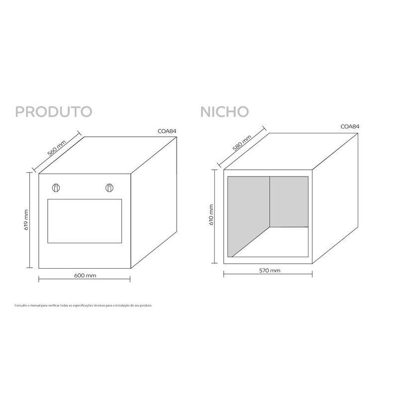Forno-Consul-COA84BR-Imagem-Dimensoes-Nicho