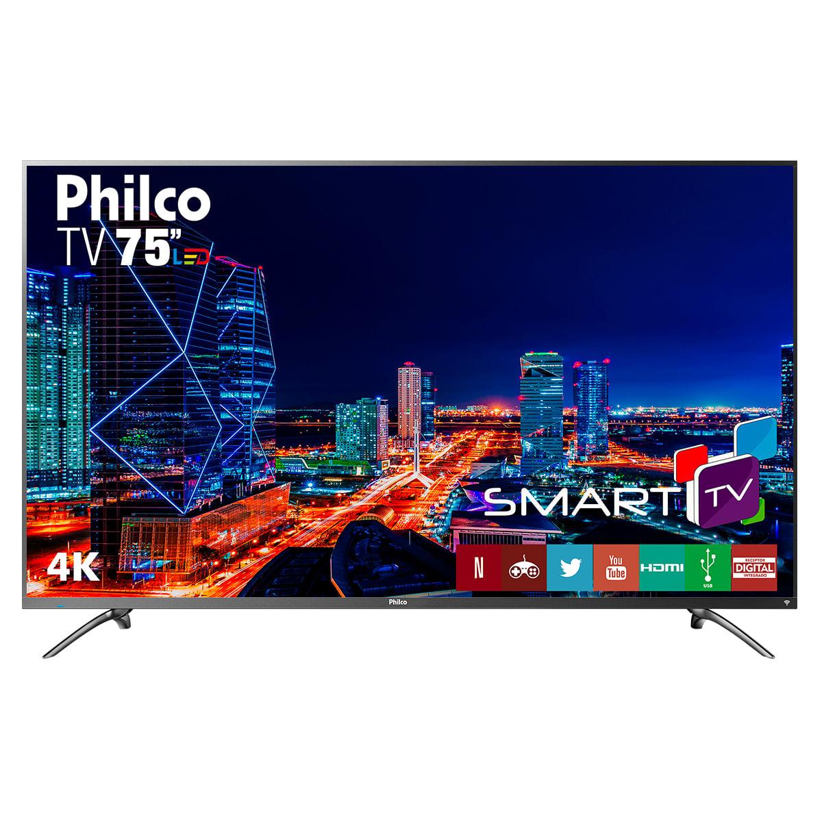Imagem de Smart TV Philco LED 75