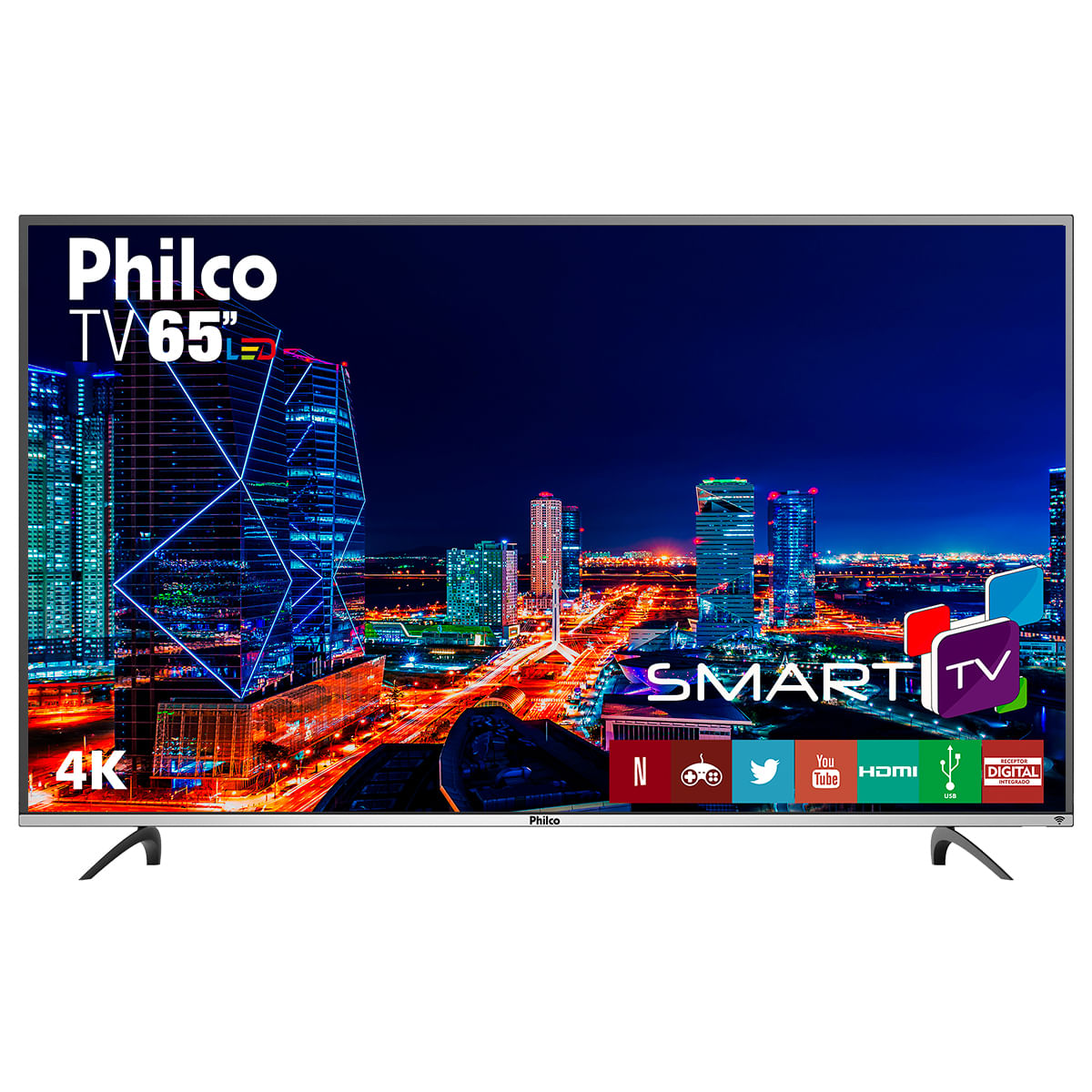 "TV Philco 4K LED 65"" PTV65F60DSWN"