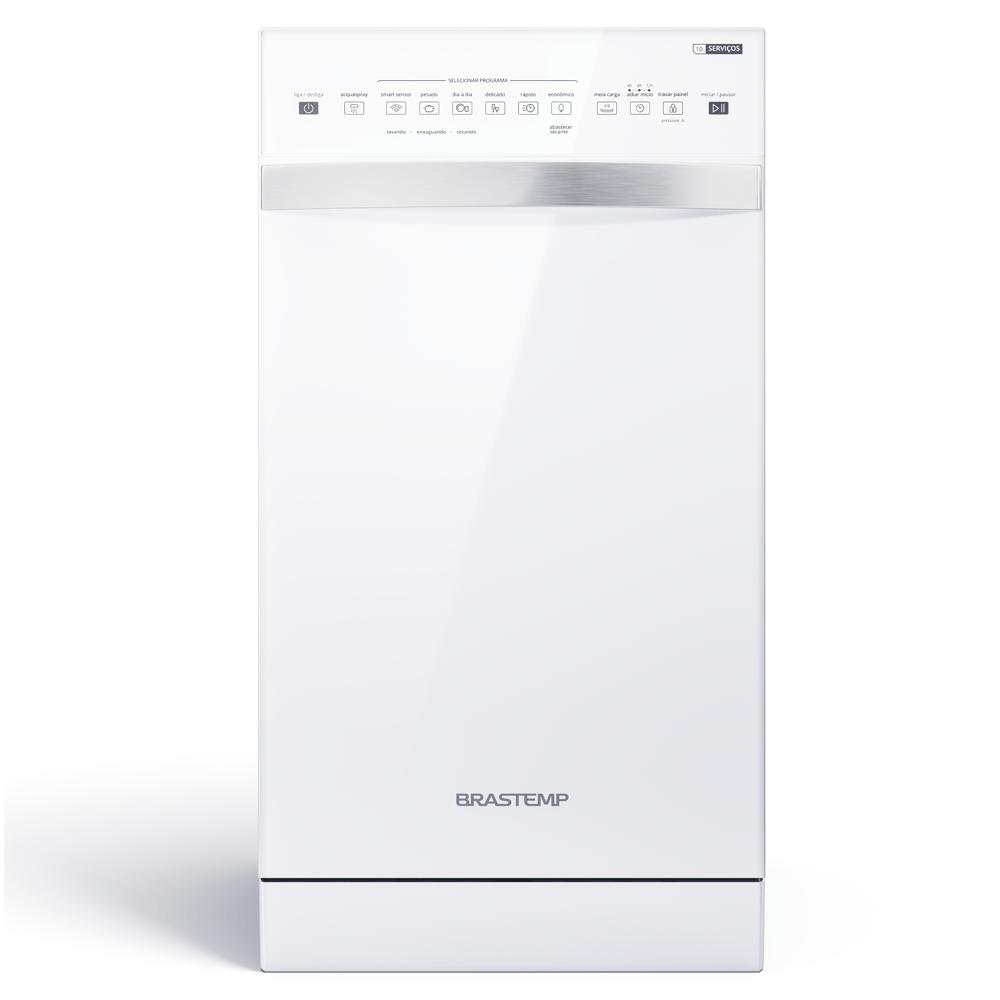 Lava-Louças 10 Serviços Brastemp Branco com Ciclo Pesado - Outlet - BLF10BB_OUT