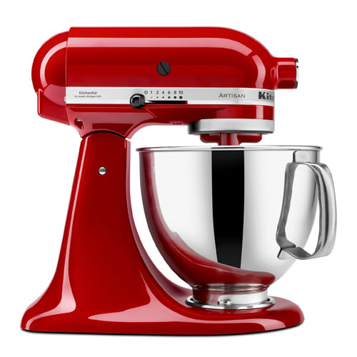 Batedeira Stand Mixer Artisan Empire Red KitchenAid