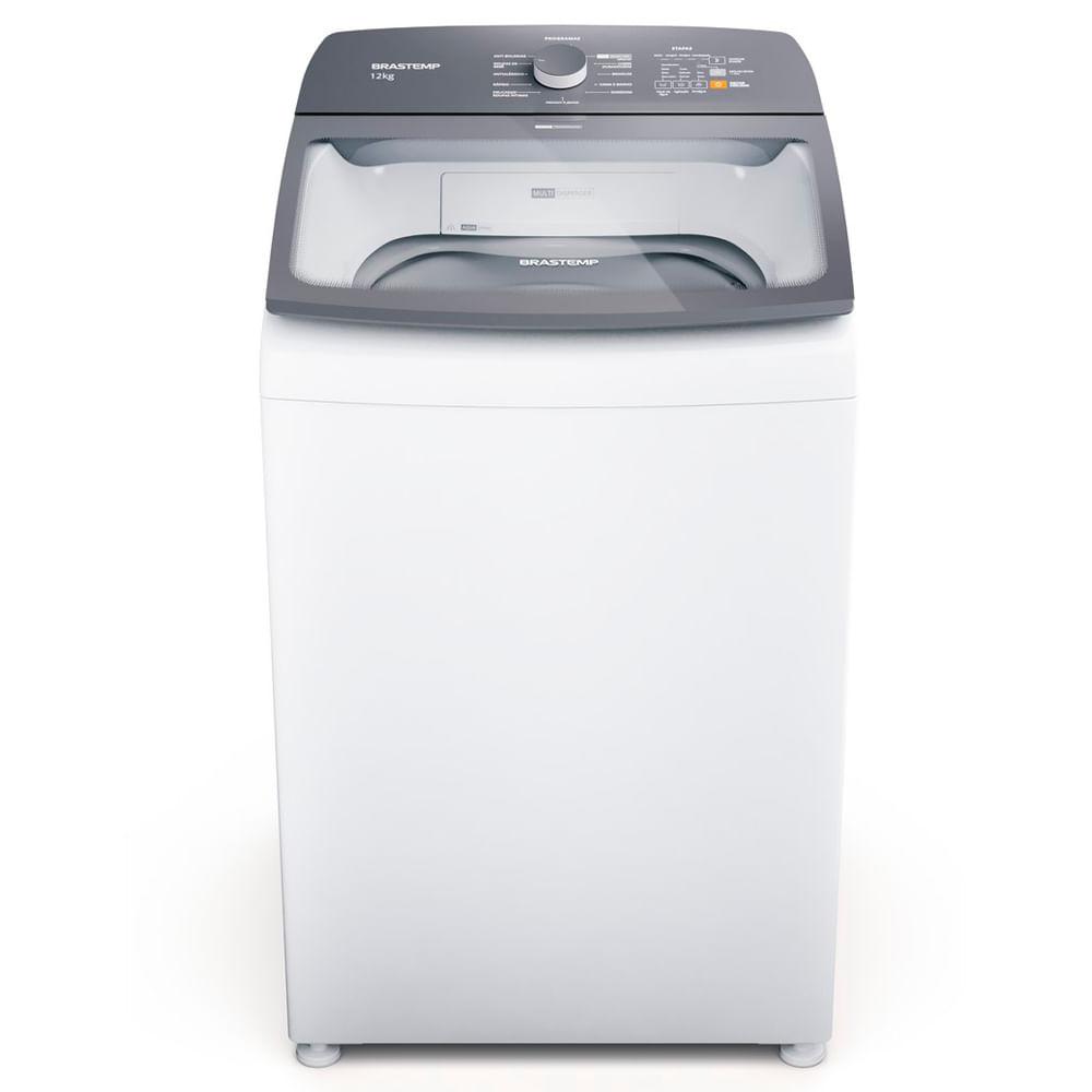 Máquina de Lavar Brastemp 12Kg branca com Ciclo Tira Manchas Advanced e Ciclo Antibolinha - Outlet - BWK12AB_OUT