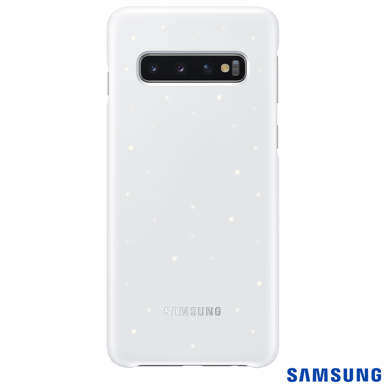 Capa Protetora Samsung para Galaxy S10+ LED Back - Branca