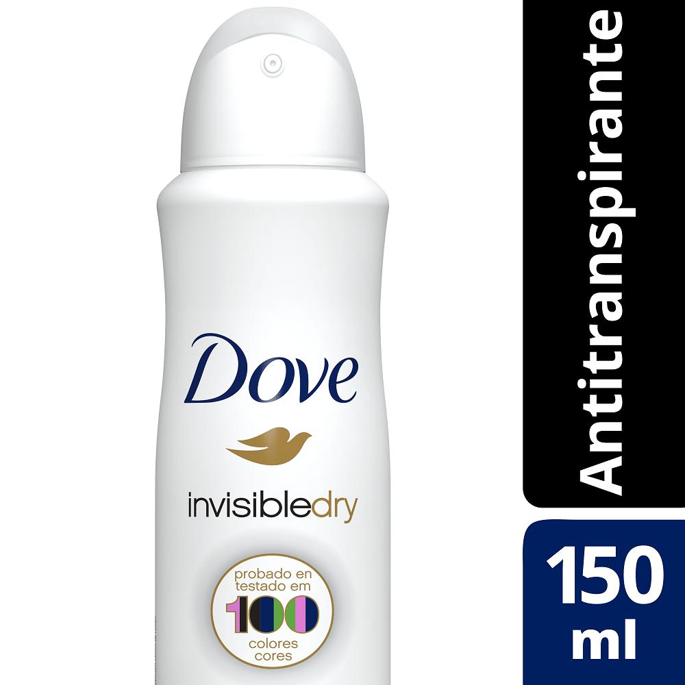 Antitranspirante Aerosol Dove Invisible Dry 150ml
