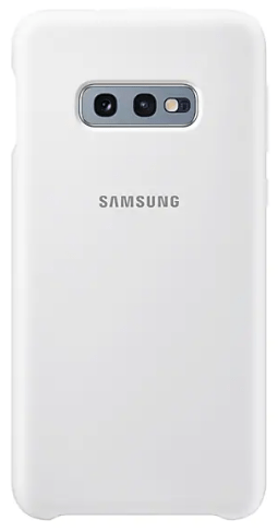 Capa Protetora Silicone S10e - Branca