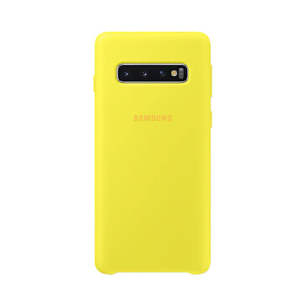 Capa Protetora Silicone S10 - Amarela