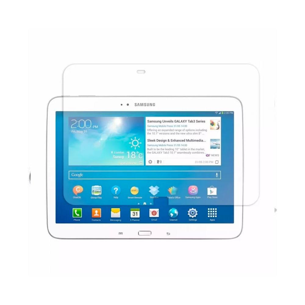 """Pelicula De Protecao Galaxy Tab3 10"""" - Transparente"""
