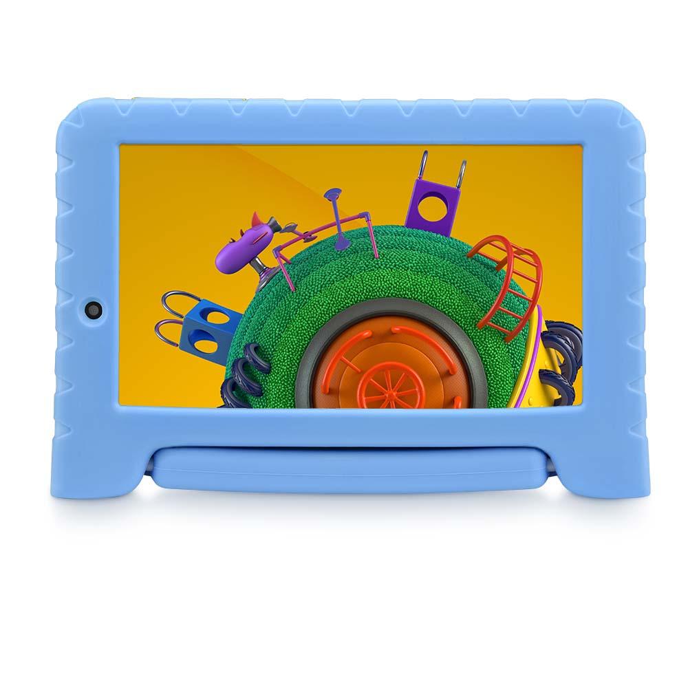 Tablet Multilaser Discovery Kids 16GB Tela 7 Pol. Wi-fi Dual Câmera Azul - NB309