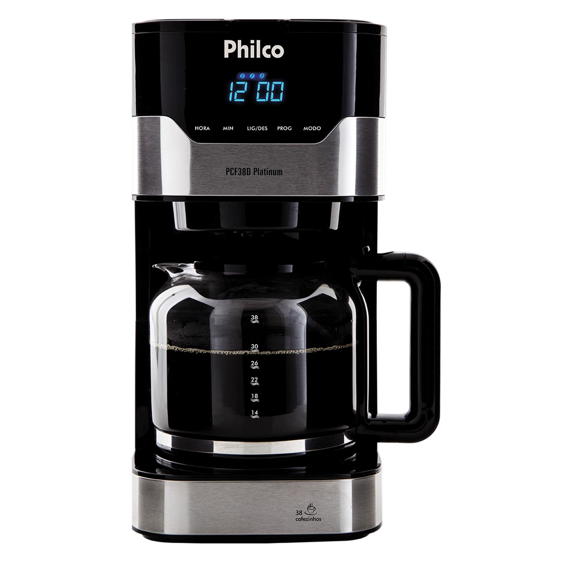 Cafeteira Philco PCF38 Platinum
