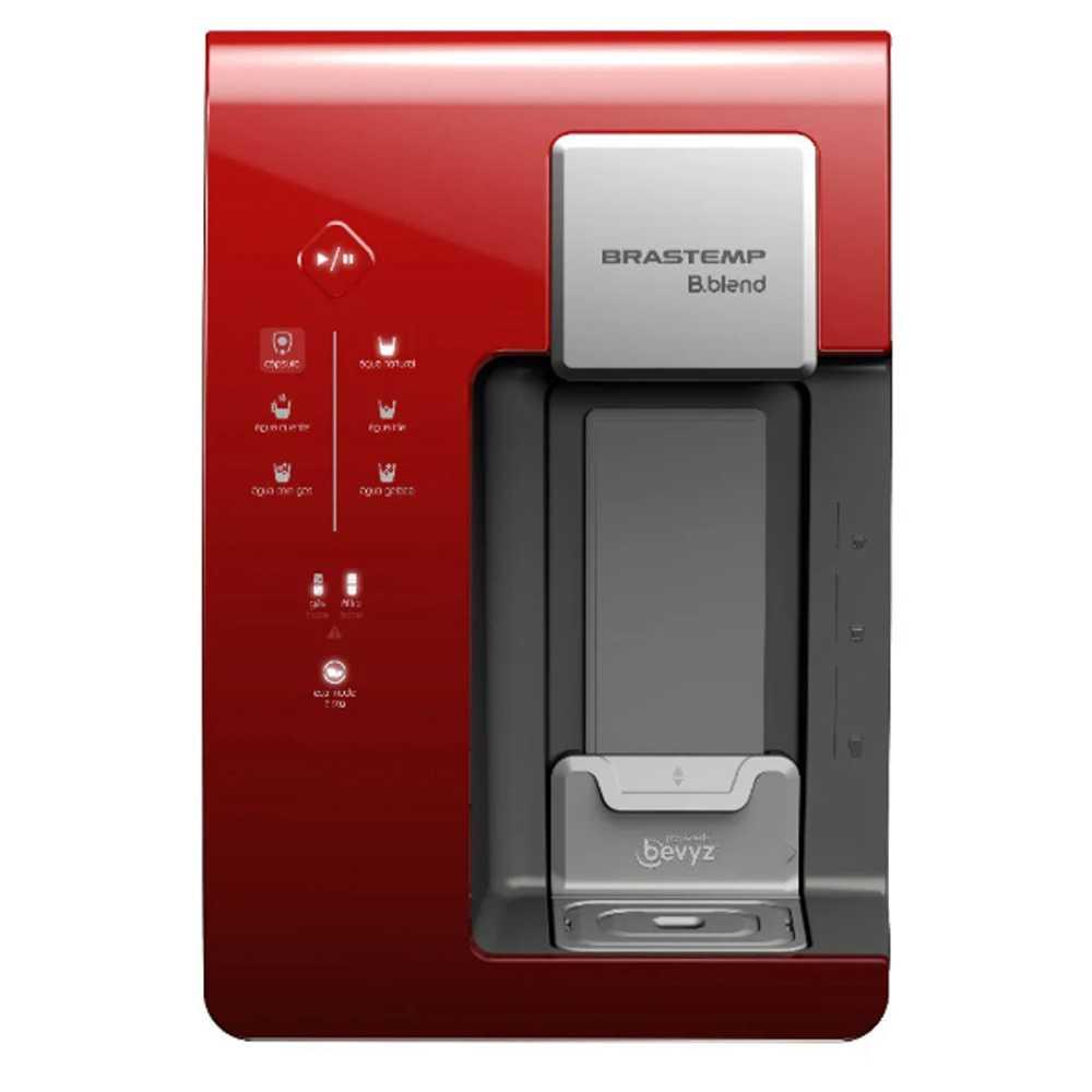 Máquina de Bebidas Brastemp B.blend com purificador - Vermelho - BPG40DV