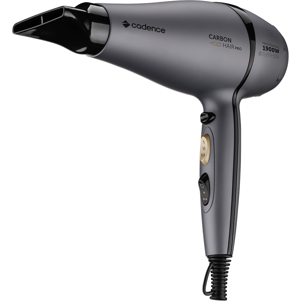Secador Profissional Carbon Hair Pro Cadence