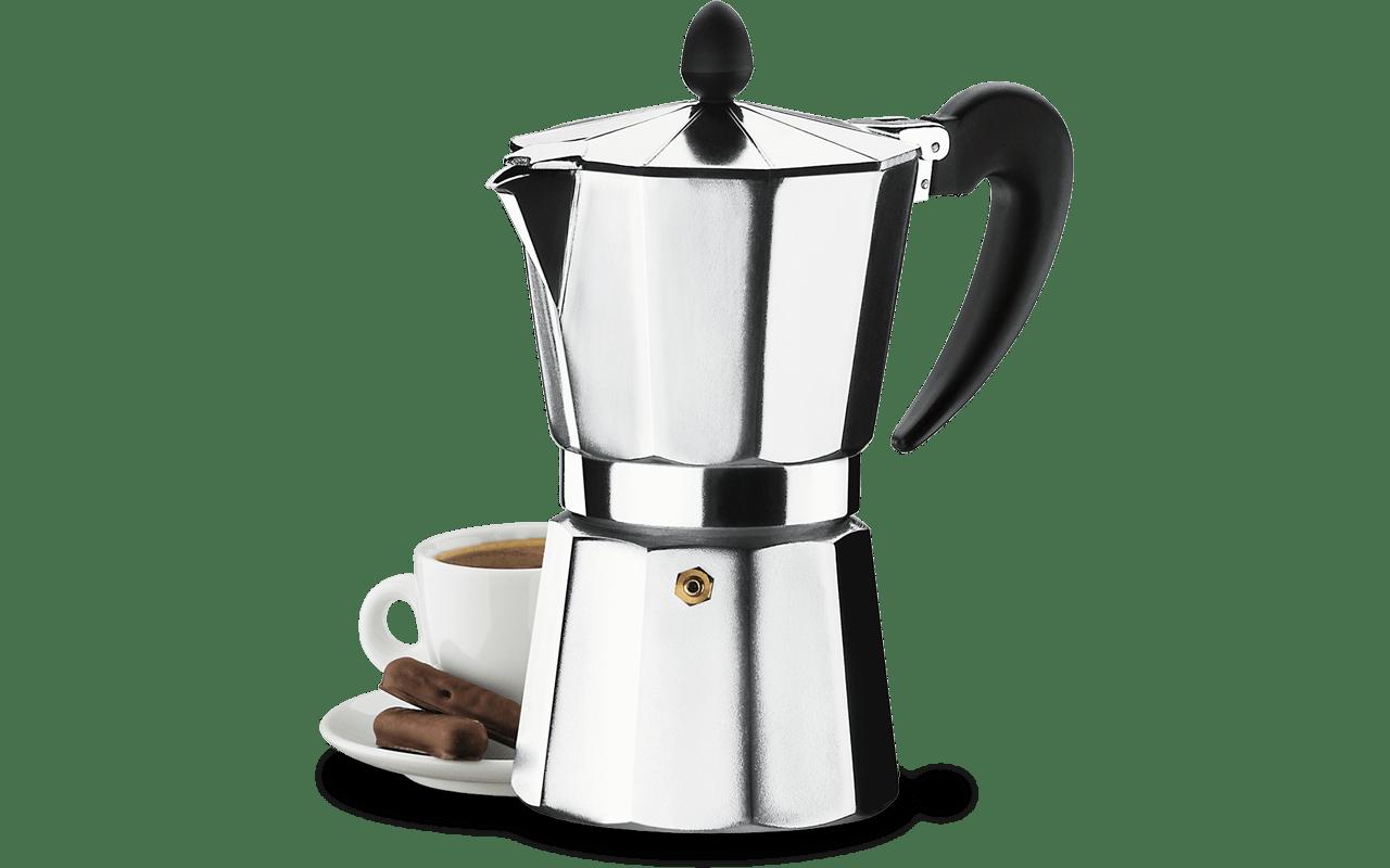 Cafeteira Alumínio 9 Xícaras - Verona 450 ml