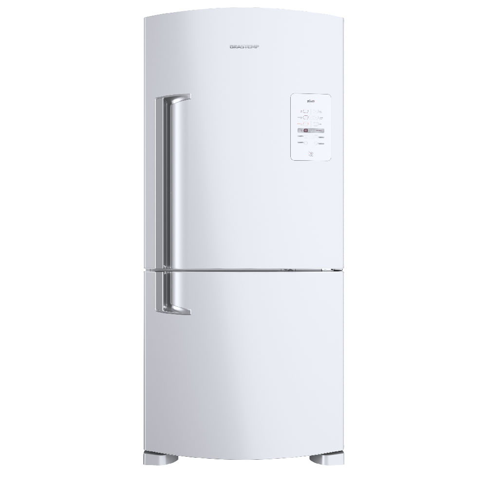 Geladeira Brastemp Frost Free Inverse 573 litros Branca com Smart Bar - Outlet - BRE80AB_OUT