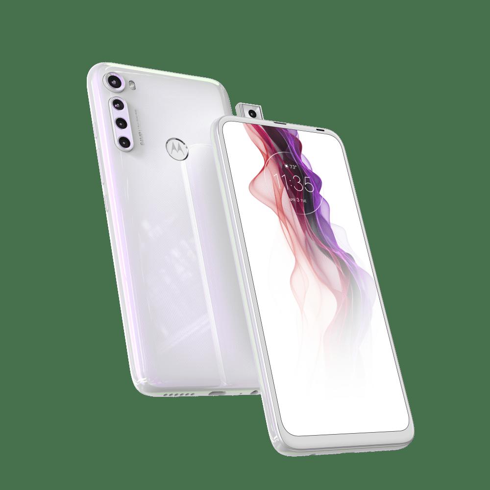 Smartphone Motorola One Fusion Plus Branco Prisma