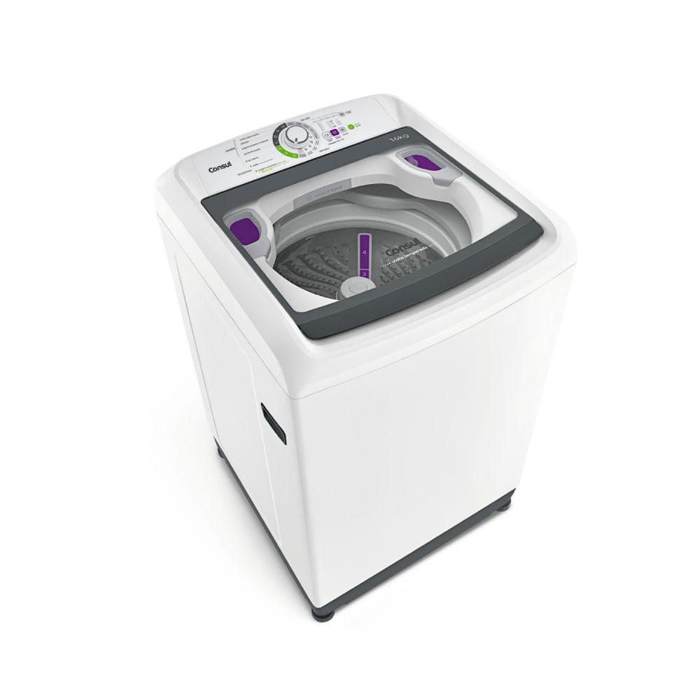 Máquina de Lavar Consul 16kg Dosagem Extra Econômica e Ciclo Edredom - Outlet - CWL16AB_OUT