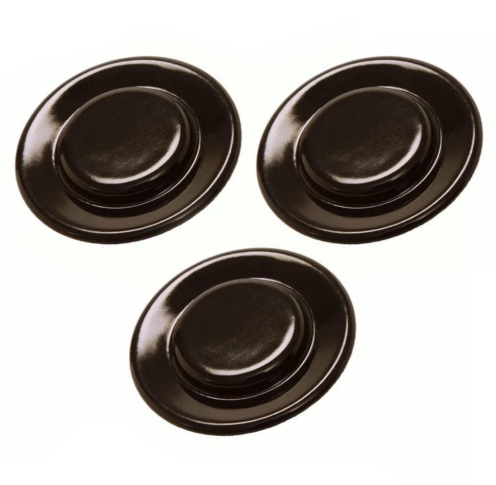 Combo 3 Capas do Queimador Boca Pequena para Fogão e Cooktop - CJ_W10816564_3