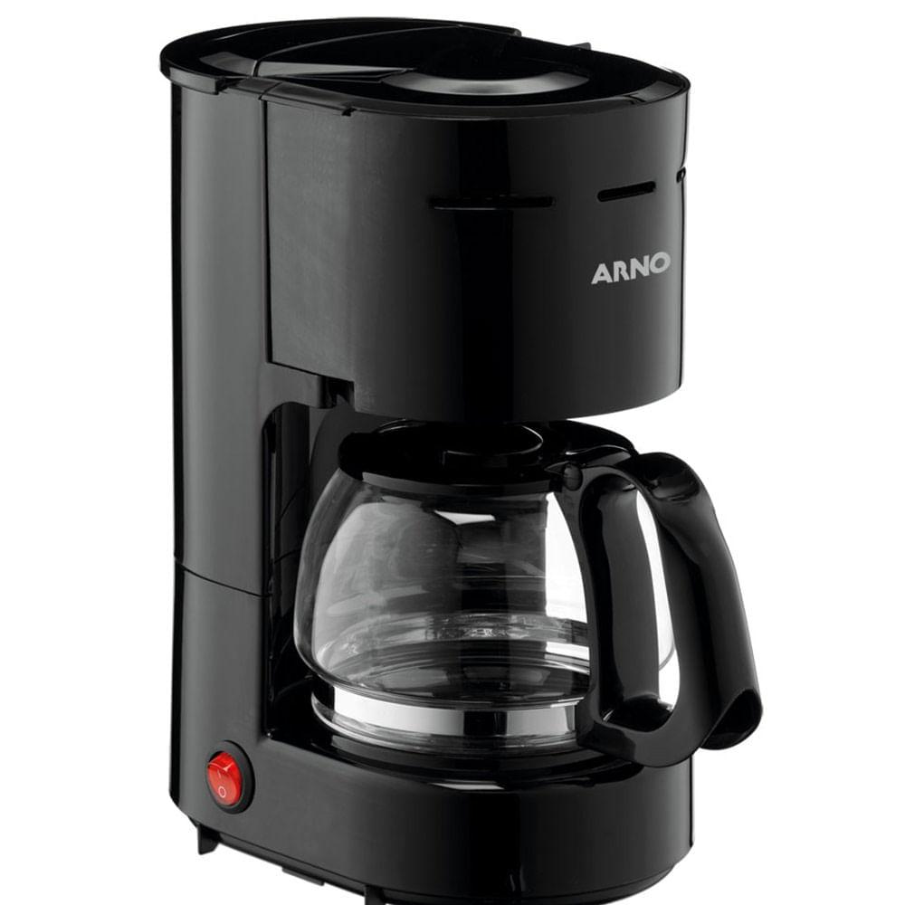 Cafeteira Arno Filtro Perfectta CAFP Preta