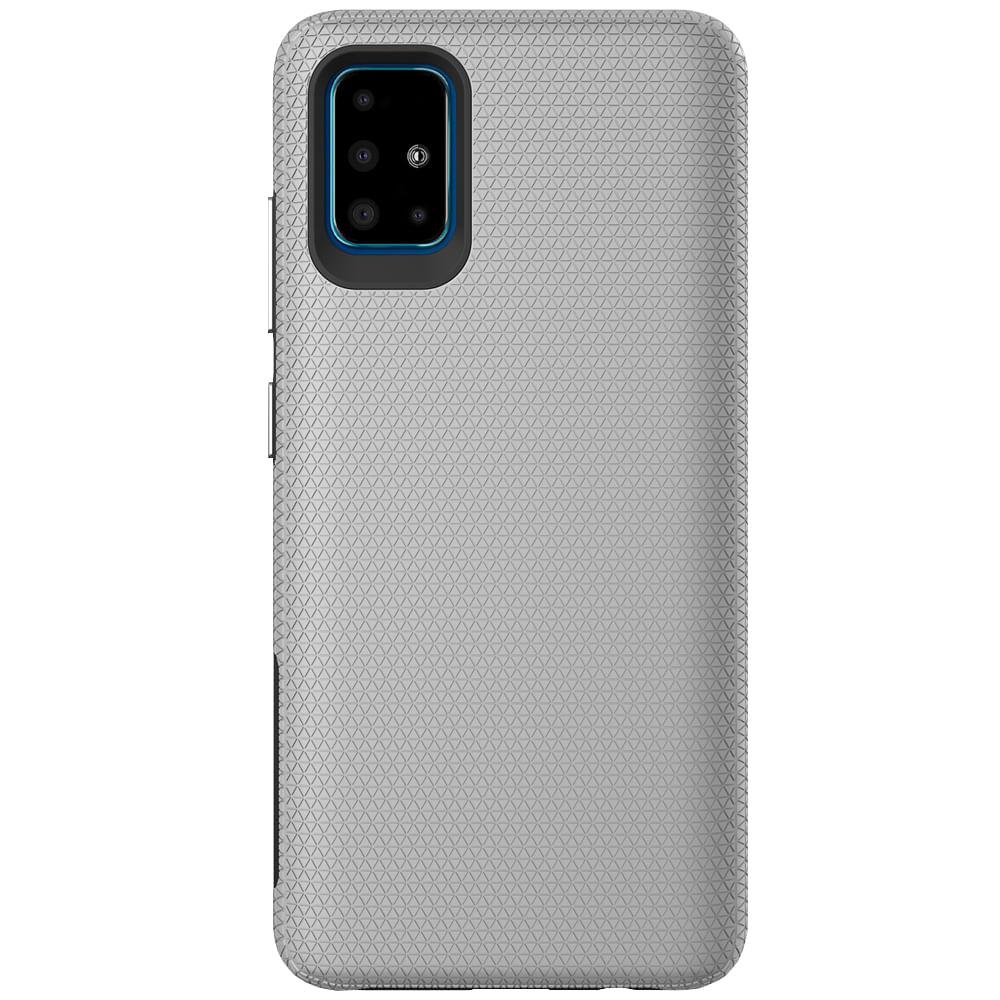 Capa Protetora Antiqueda Y-Cover Triangle Cinza Samsung Galaxy A51