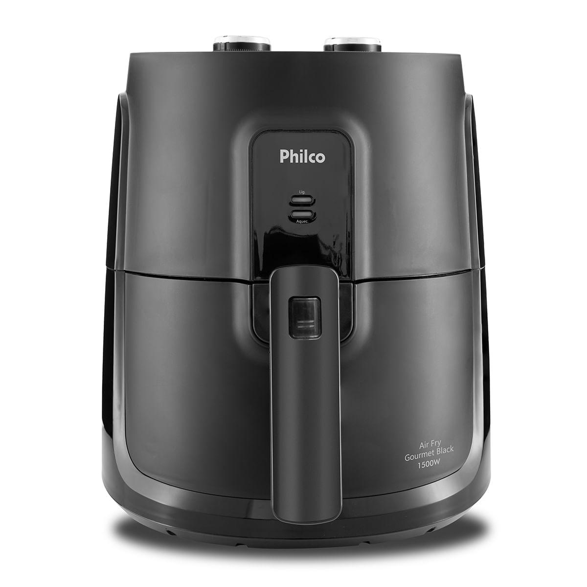 Fritadeira Philco Air Fry Gourmet Black PFR15P 4L 1500W