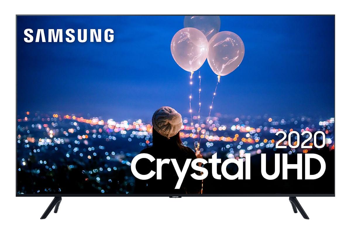 Samsung Smart TV 82 polegadas Crystal UHD 82TU8000 4K Alexa built in Controle Único Modo Amb.Foto