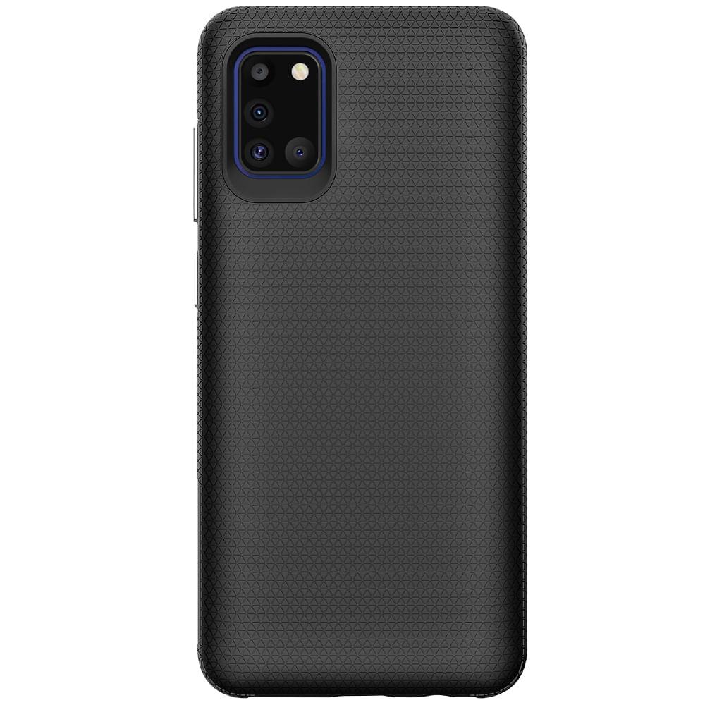 Capa Protetora Antiqueda Y-Cover Triangle Preto Samsung Galaxy A31