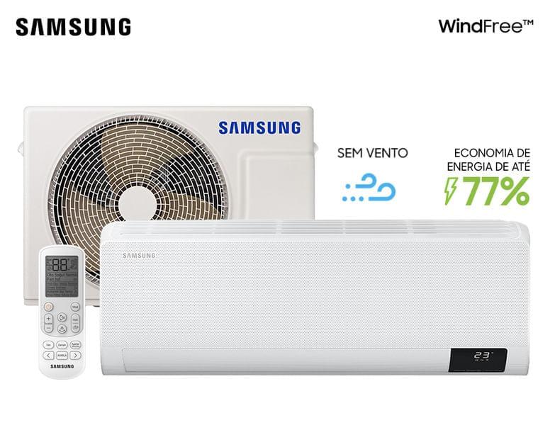Ar-condicionado Split Inverter Wind-Free 9.000 Btu/h Quente e Frio Branco (220v)