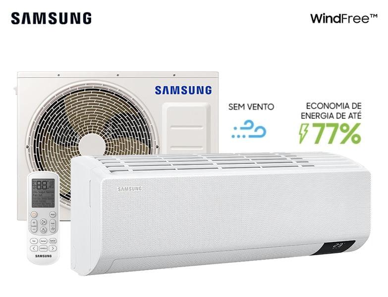 Ar-condicionado Split Inverter Wind-Free 22.000 Btu/h Quente e Frio Branco (220v)