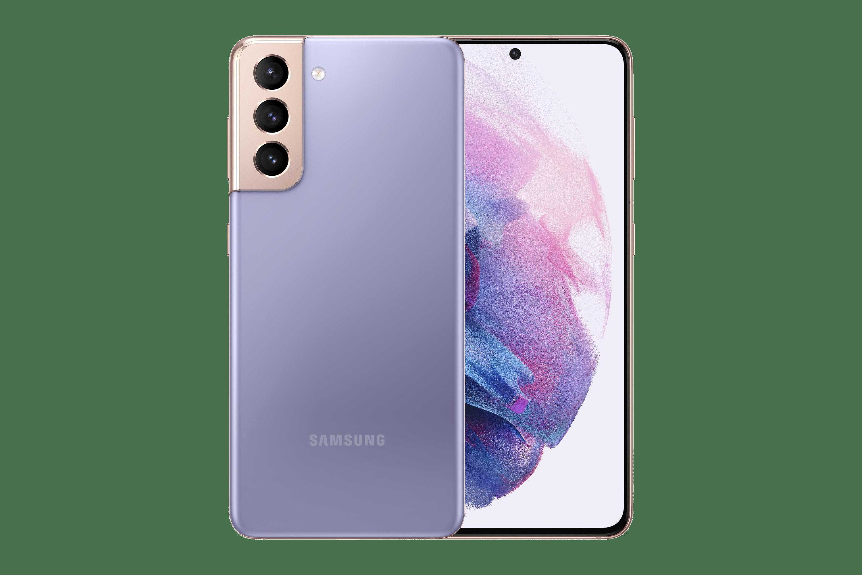 "Smartphone Samsung Galaxy S21, 128GB + 8GB RAM, Tela Infinita de 6.2"""