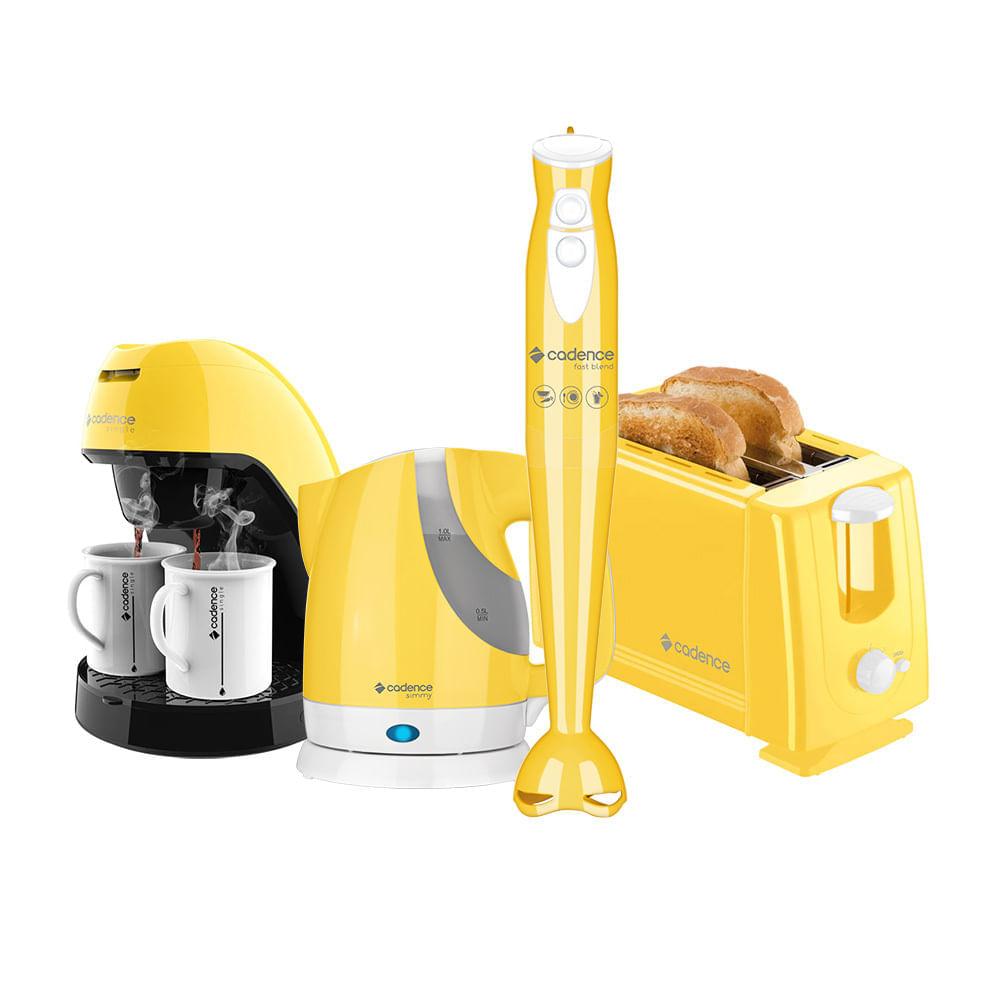 Kit Cadence Colors Amarelo Simmy