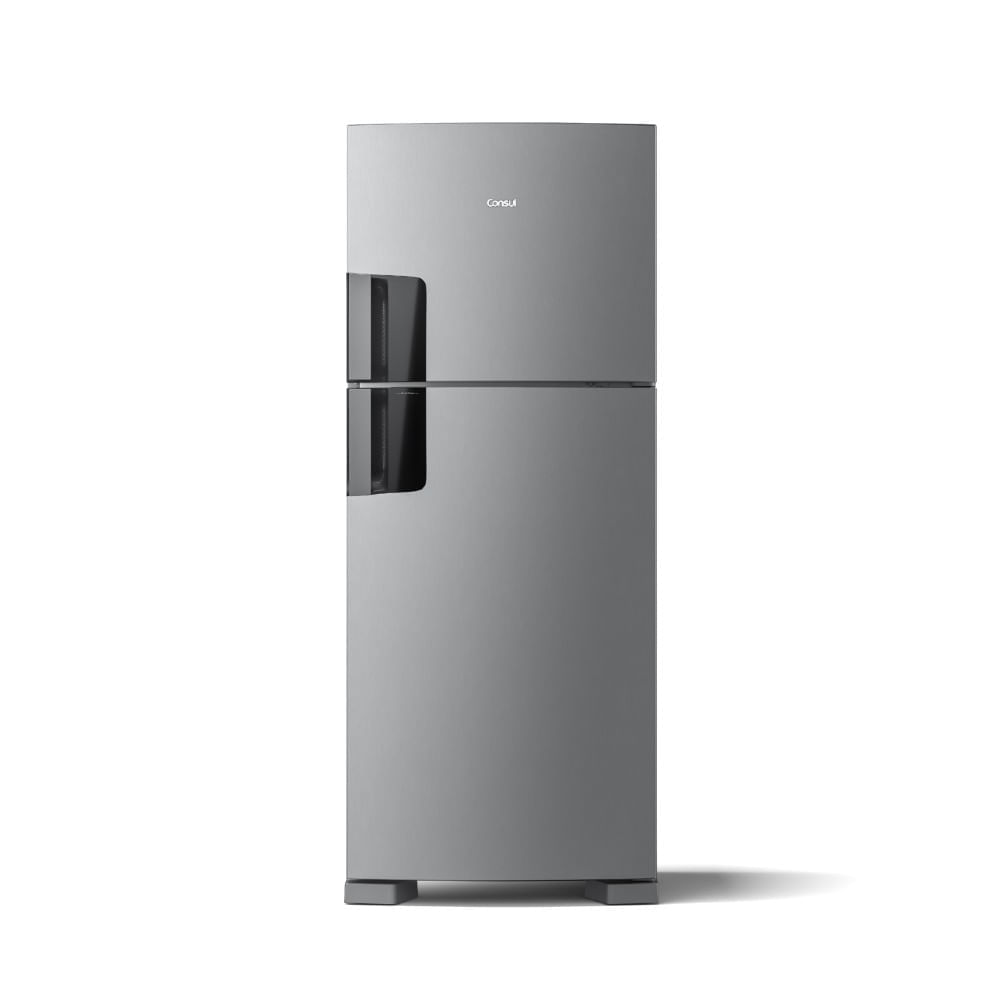 Geladeira Consul Frost Free Duplex 410 litros com Espaço Flex cor Inox Com Controle Interno de Temperatura - CRM50HK_OUT
