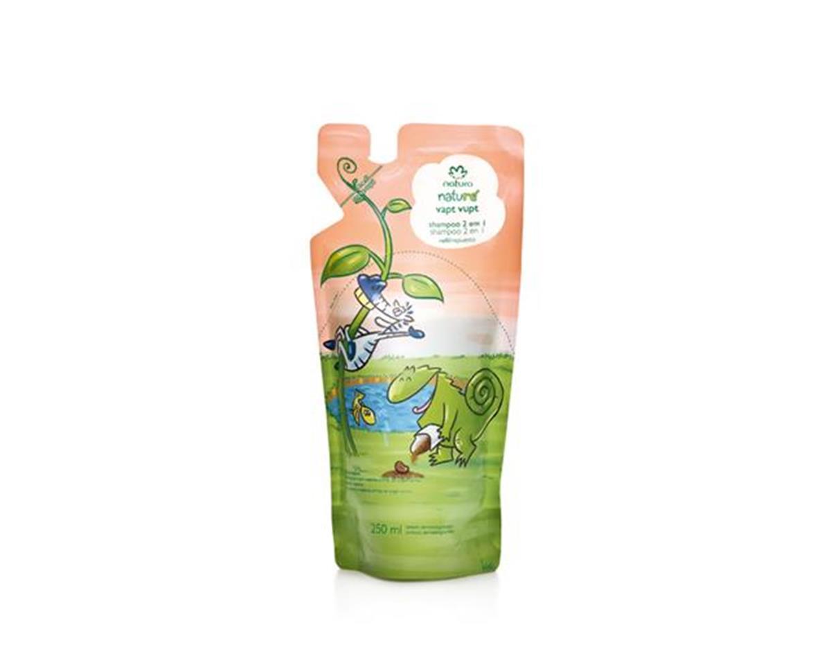 Refil Vapt Vupt Shampoo 2 em 1 Natura Naturé - 250ml