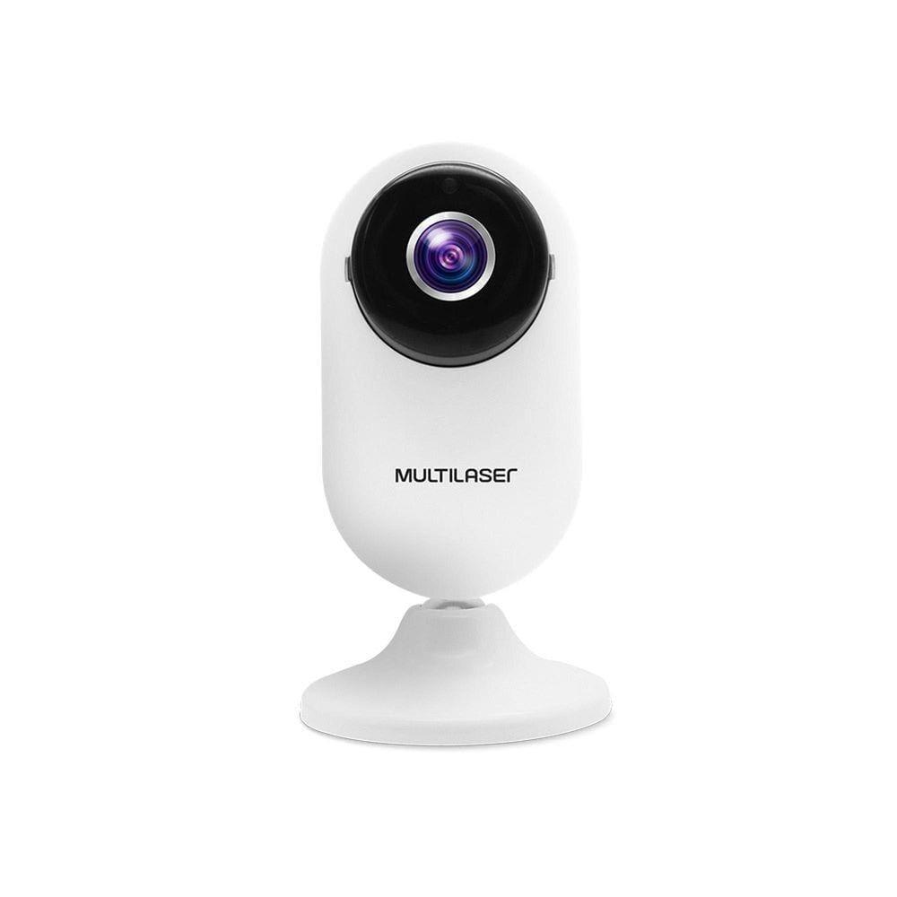 Câmera Interna Inteligente Multilaser SE223 Full HD Wi-Fi Branco